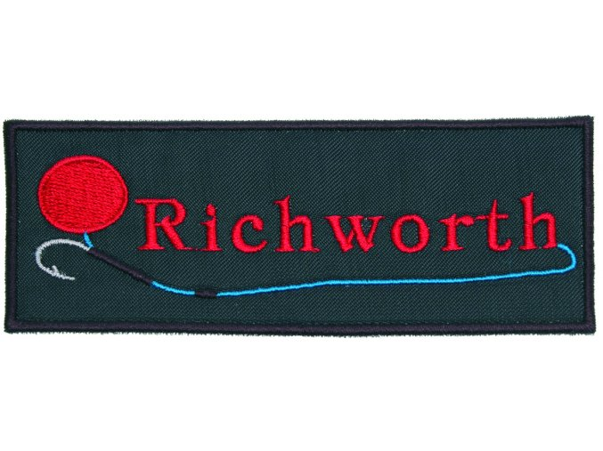 000207 nášivka + nálepka richworth