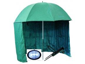 000435 deštník s bočnicí PVC drzák sv