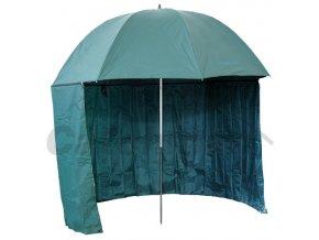 000435 deštník s bočnicí PVC