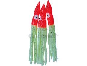 011019 Chobotnice návazce červená fluo