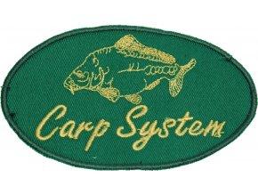 200053 nášivka Carp system