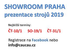 Termíny Showroom prezentací