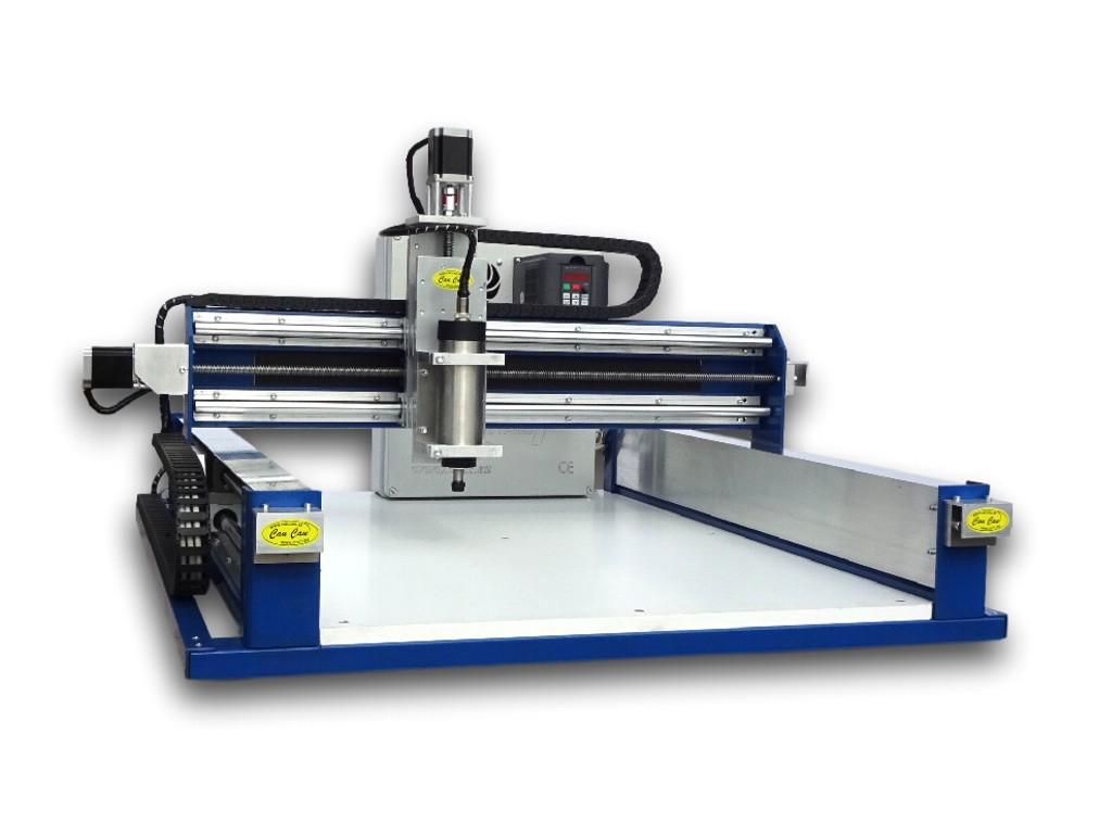 CauCau CNC frézka KOMPAS H1000HF-800W-ASYN-(600x850x120mm)