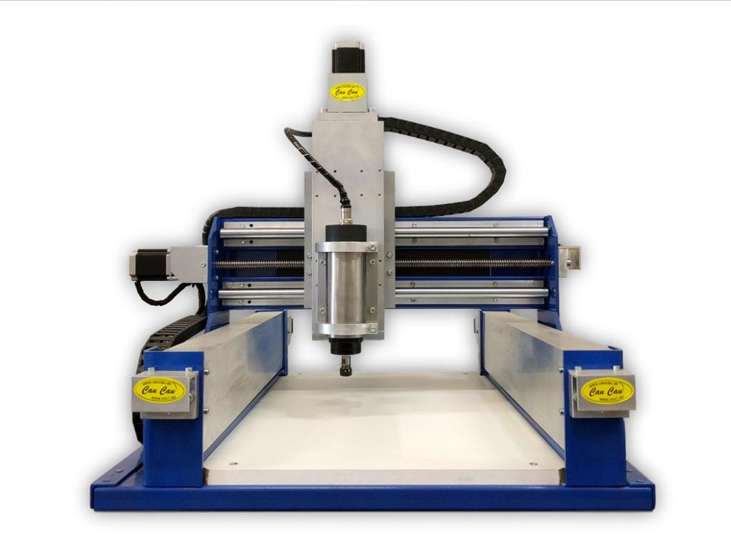 CauCau CNC frézka KOMPAS H400HF-800W-ASYN-(300x400x120mm)