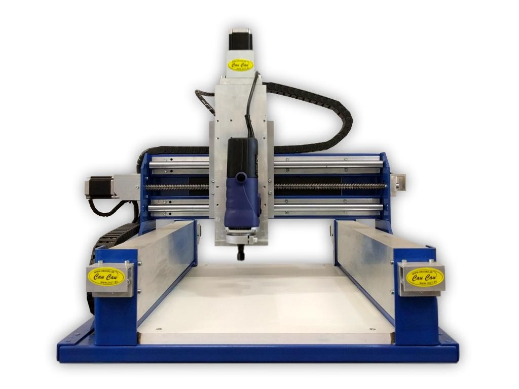 CauCau CNC frézka KOMPAS H400Basic-850W-(300x400x120mm)