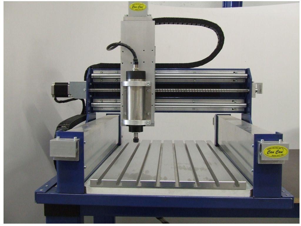 CauCau CNC frézka KOMPAS H400GS-800W-ASYN-(300x400x120mm)