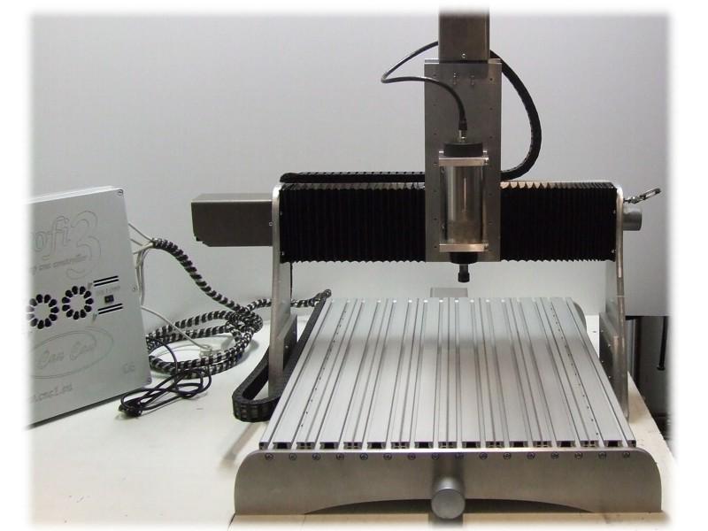 CauCau CNC frézka KOMPAS F600 2,2kW-ASYN (400x600x150mm)