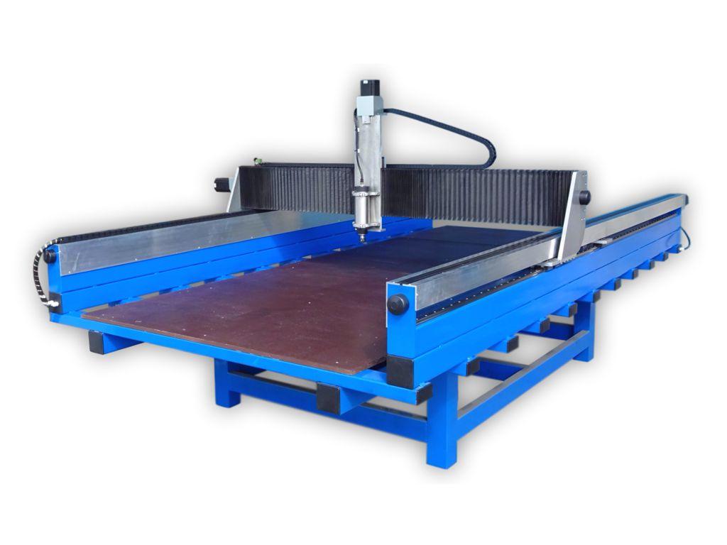 CauCau CNC frézka KOMPAS F3000-2200W-ASYN-(1250x2600x250mm)
