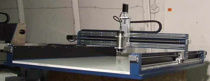 CauCau CNC frézka KOMPAS H2000GS-1500W-ASYN-(1000x1700x80)