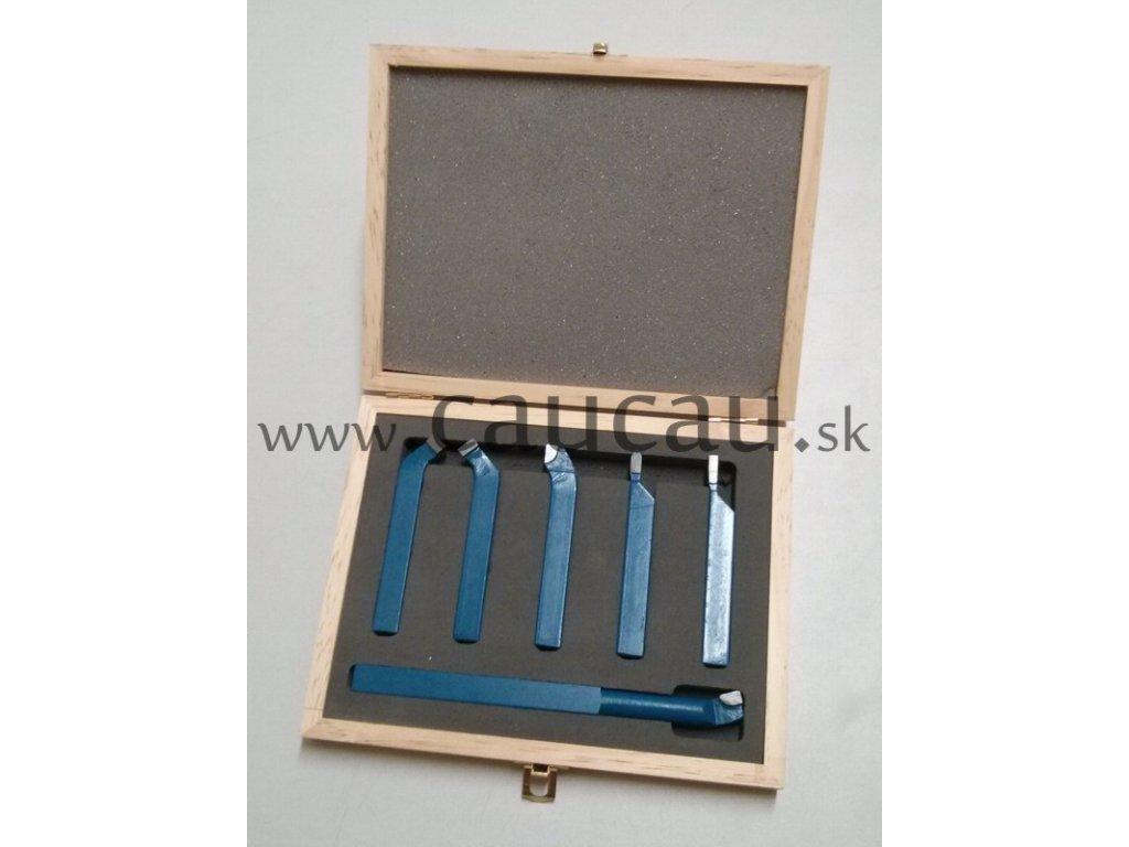 Sada sústružníckych nožov 12mm - 6ks