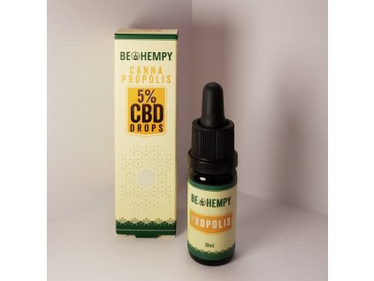 Be Hempy CannaPropolis 5% CBD 10ml