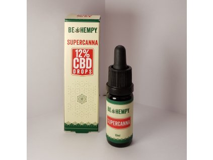 Be Hempy SuperCanna 12% CBD olej 10ml