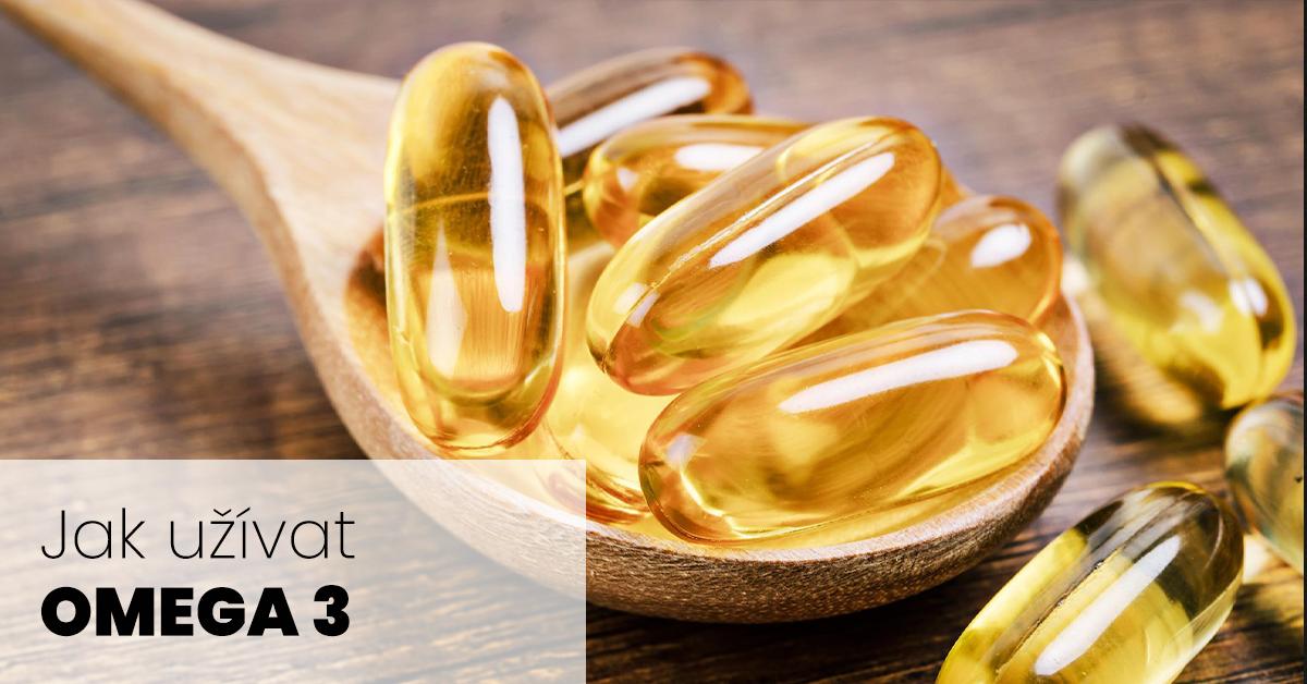 Jak užívat omega 3