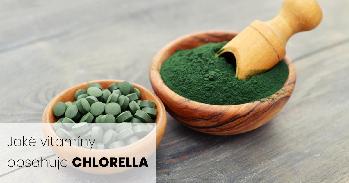 Jaké vitamíny obsahuje chlorella