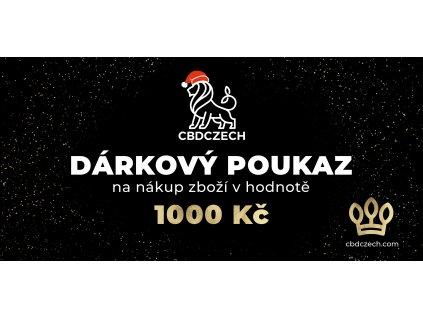 Darkový poukaz v hodnotě 1000 CZK
