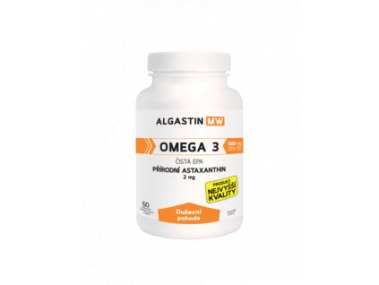 Algamo Astaxanthin - Duševní pohoda (prémiová řada 2mg)