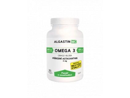 Algamo Astaxanthin - Paměť a soustředění (prémiová řada 2mg)