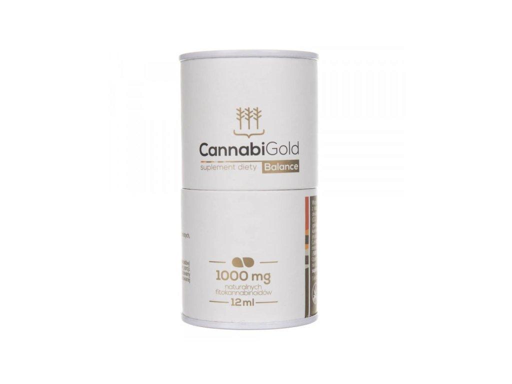 CBD konopný olej - CannabiGold BALANCE 1000 mg
