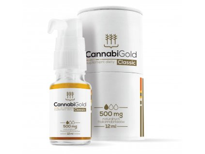 Olej CBD CannabiGold CLASSIC 500 mg
