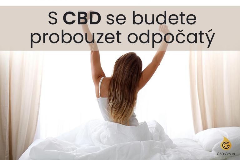 CBD pomocník na nespavost