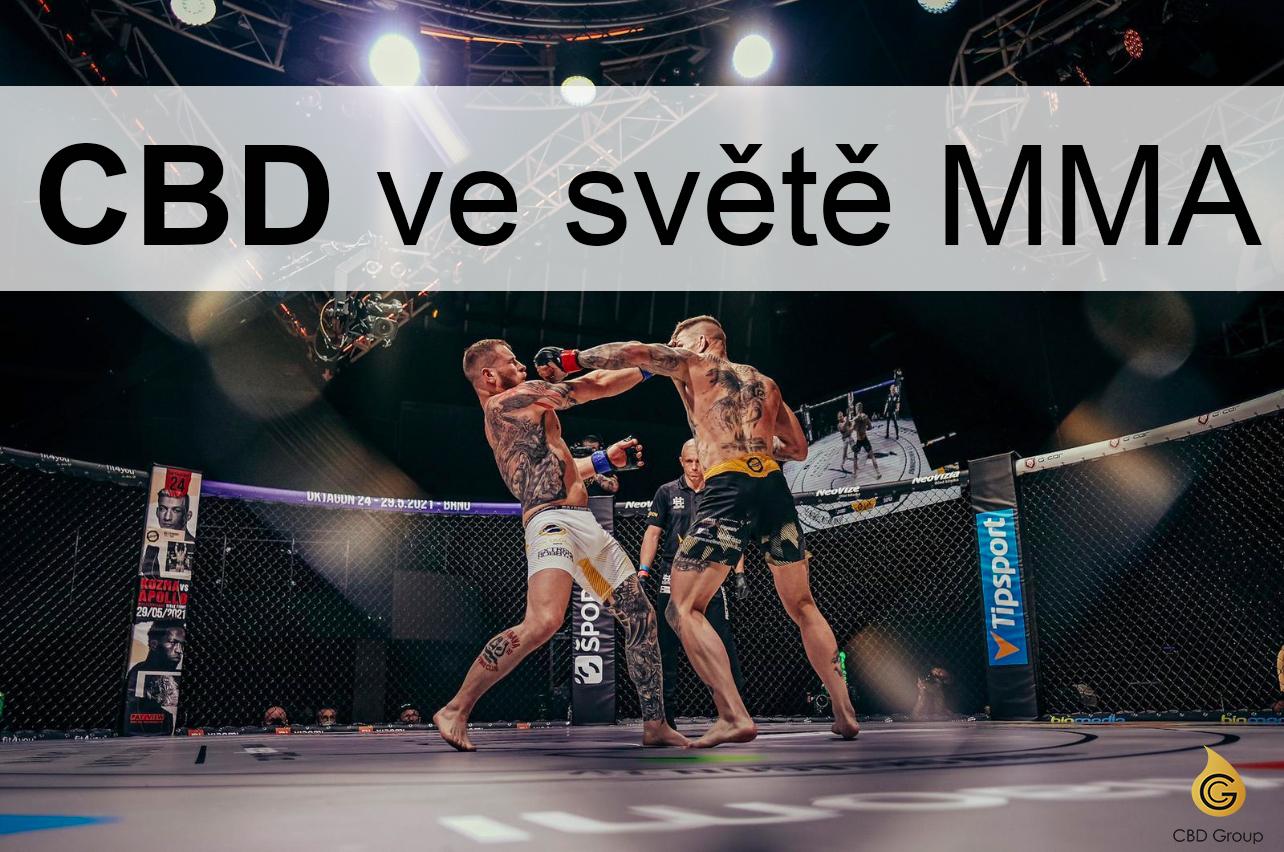 CBD ve světě MMA