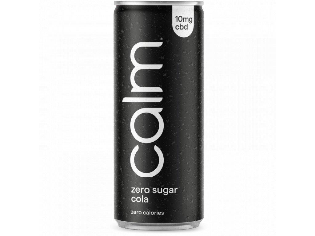 Coca - cola zero CBD - Calm Drinks - bez kalorií - bez cukru - zero cola - diet coke