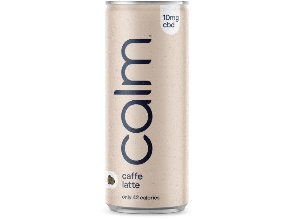 CBD Calm Drinks caffé latté s CBD