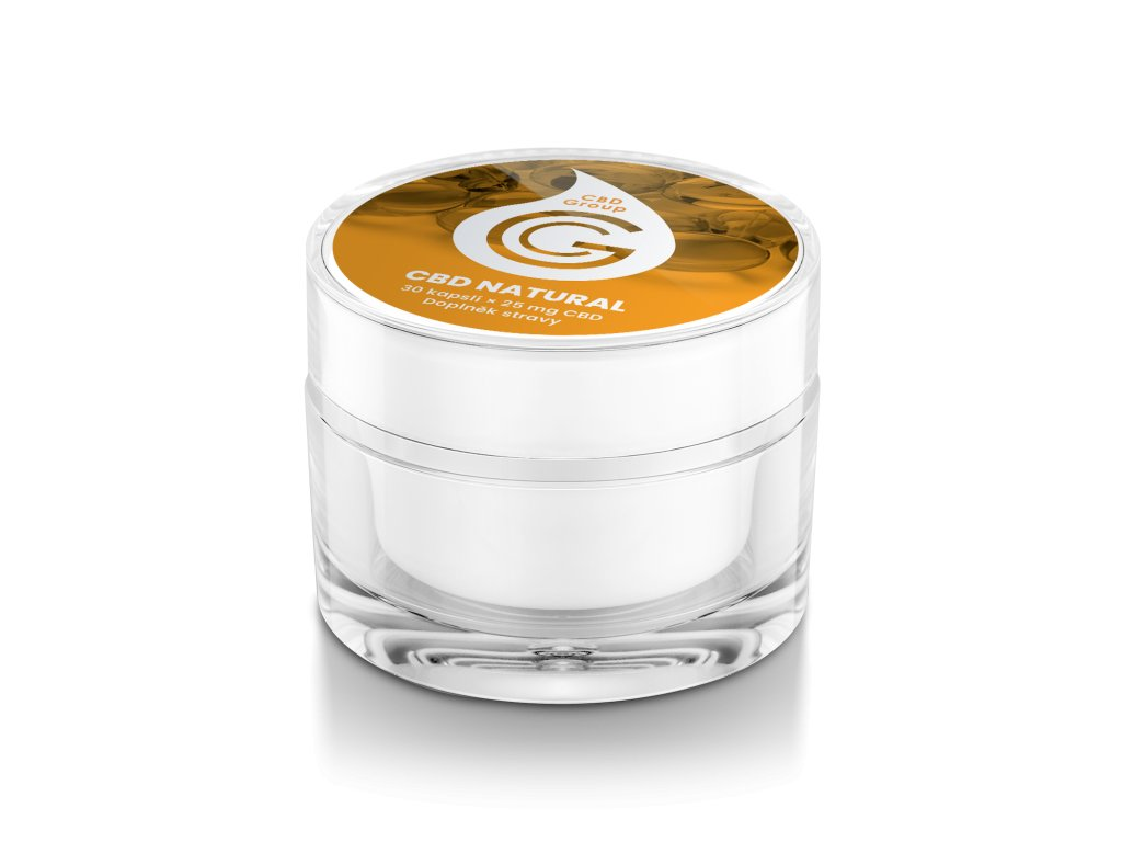 CBD kapsle - tablety Fullspectrum - snadné dávkování a užívání CBD