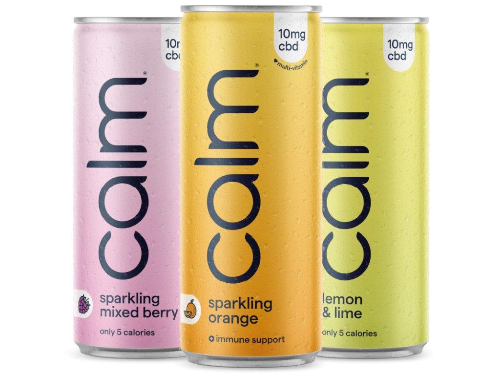 CBD nápoj - Testovací balení Calm Drinks | CBD water