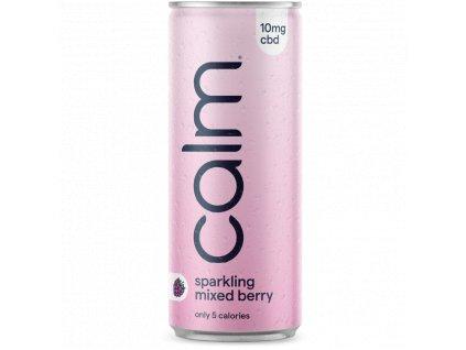 CBD nápoj - CBD drink - Calm Drinks - Lesní ovoce - mixed berries