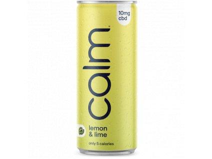 CBD nápoj s obsahem CBD - CBD infused drink - citron a limetka - zero drink