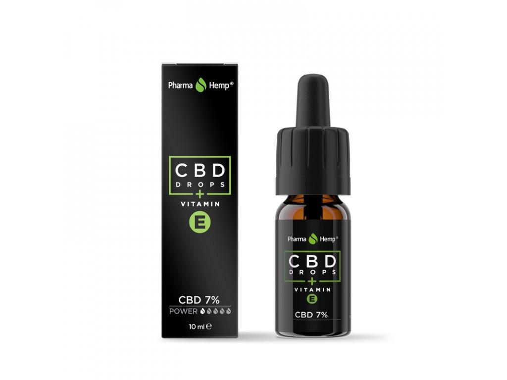 cbd drops vitamin e