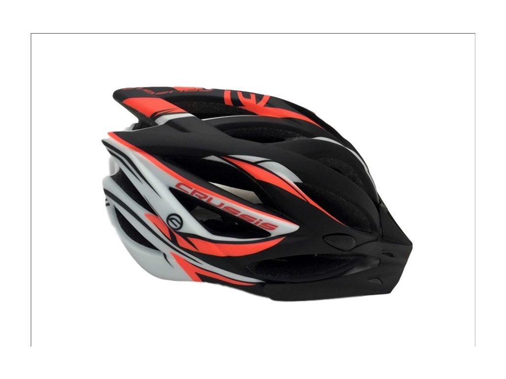 Helma černo-oranžová zn. Crussis
