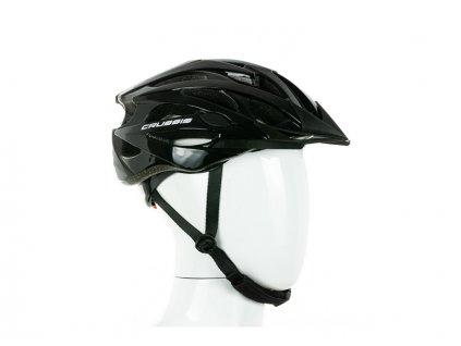 Cyklistická přilba CRUSSIS bílo-černá