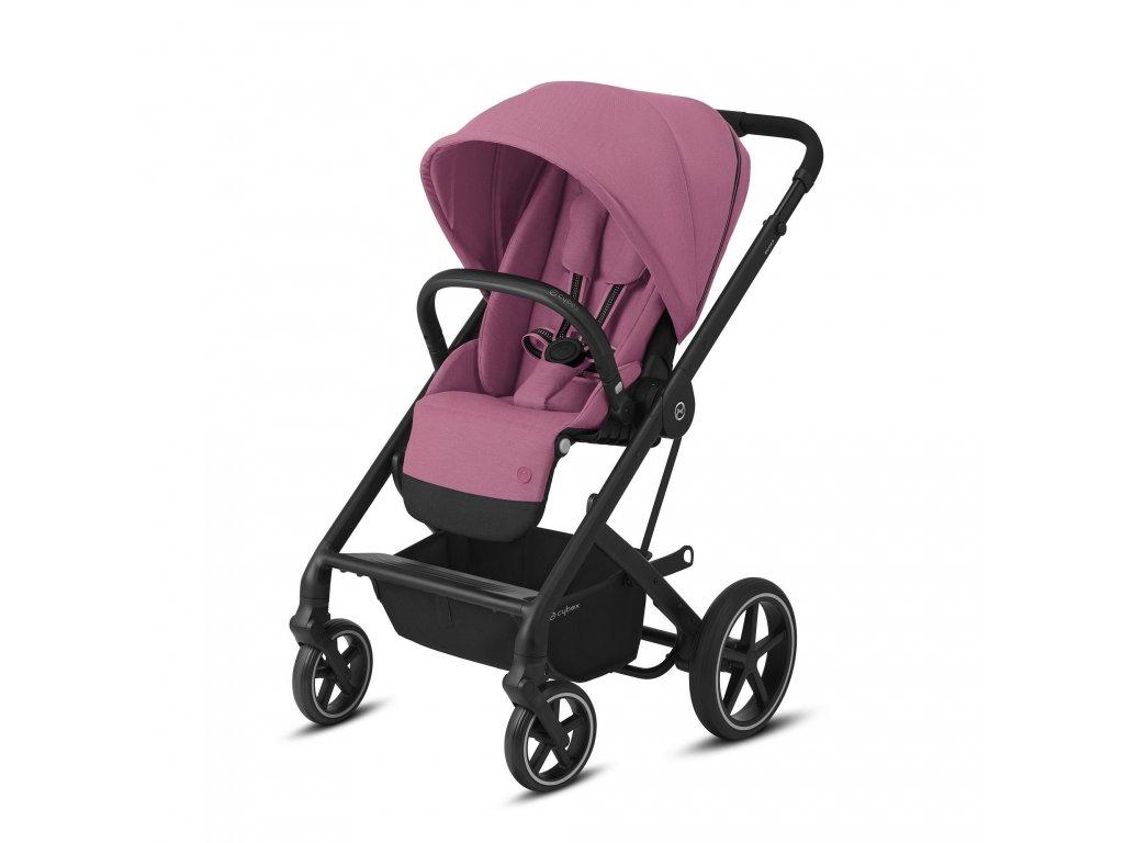 Cybex Balios S Lux BLACK 2021 - Magnolia Pink