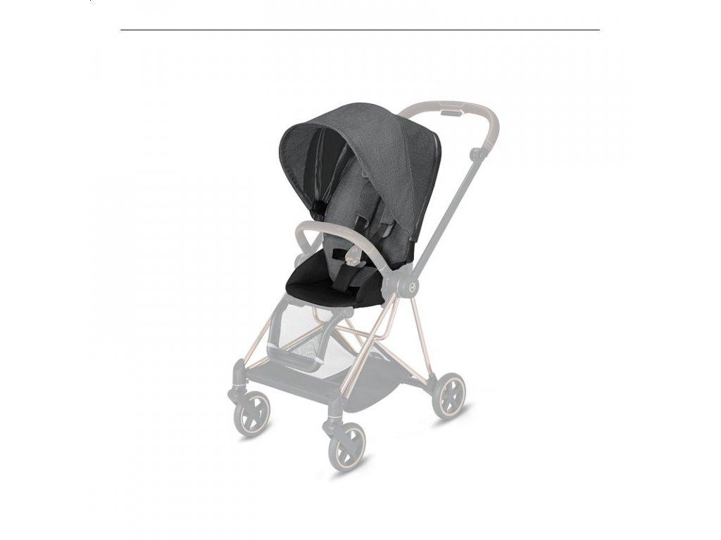 CYBEX MIOS SEAT PACK PLUS 2021 - Manhattan Grey