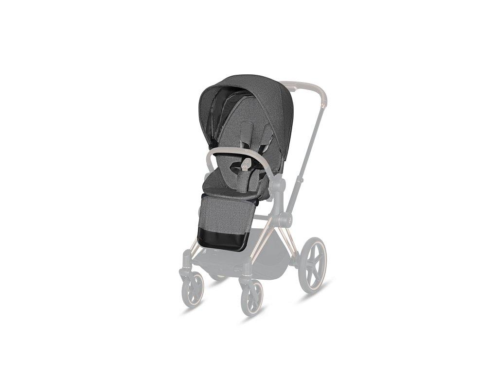 CYBEX PRIAM SEAT PACK PLUS 2021 - Manhattan Grey