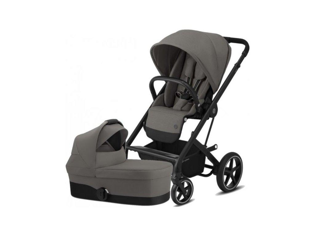 Cybex Balios S Lux BLACK, Carry Cot S 2021 - Soho Grey