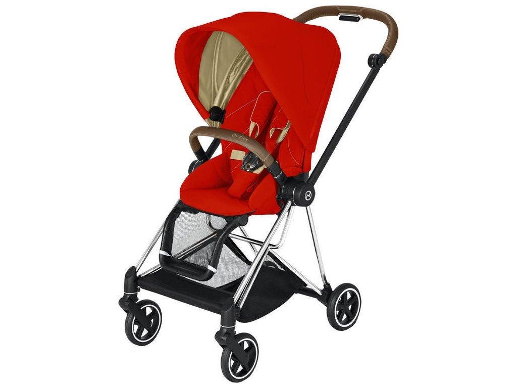 Kočárek CYBEX Mios Chrome Brown Seat Pack 2021 - Autumn Gold