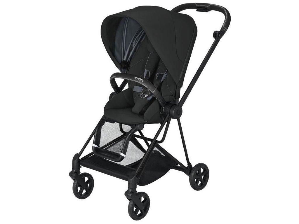 Kočárek CYBEX Mios Matt Black Seat Pack 2021 - Deep Black