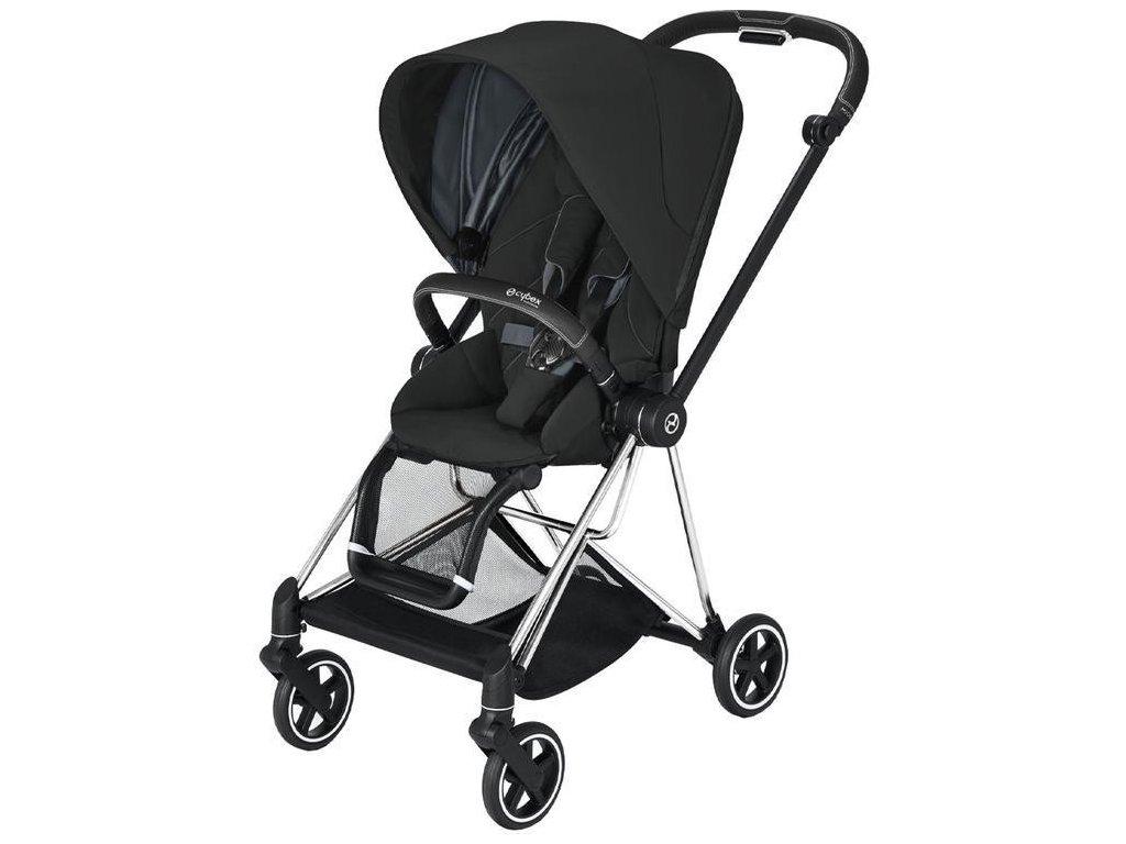 Kočárek CYBEX Mios Chrome Black Seat Pack 2021 - Deep Black