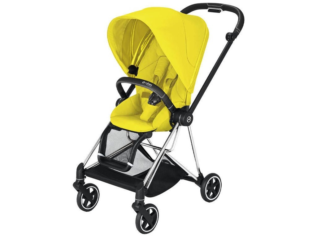 Kočárek CYBEX Mios Chrome Black Seat Pack 2021 - Mustard Yellow