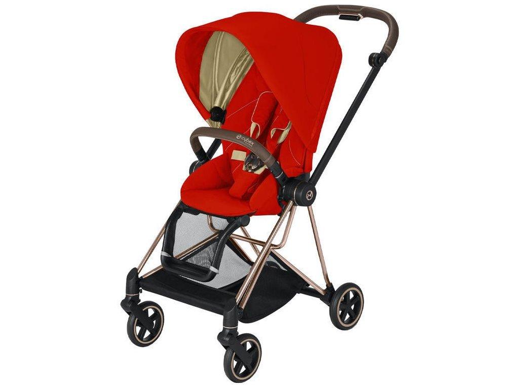 Kočárek CYBEX Mios Rosegold Seat Pack 2021 - Autumn Gold