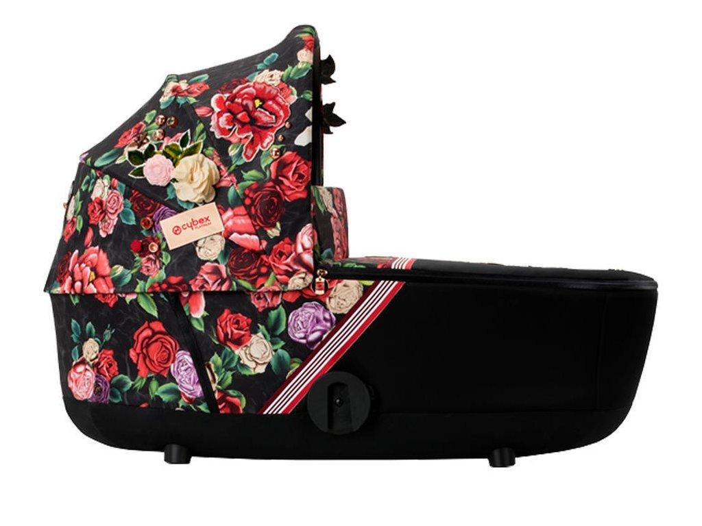 Hluboká korba CYBEX Mios Lux Carry Cot Fashion Spring Blossom 2021 - Dark
