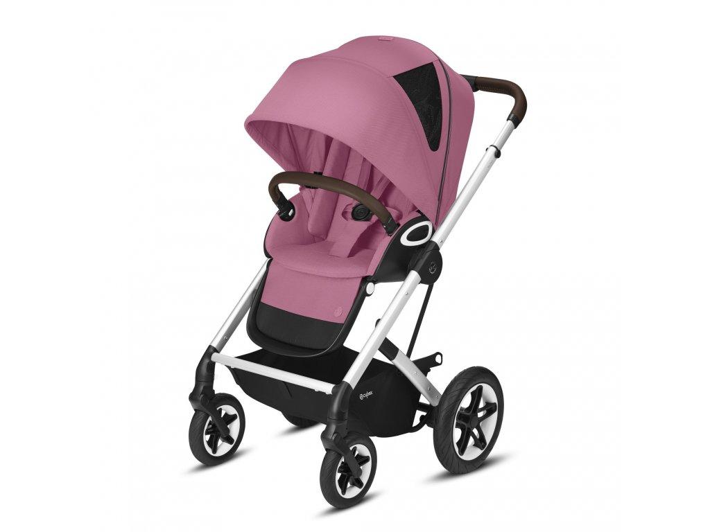 Cybex Talos S Lux SILVER 2021 - Magnolia Pink