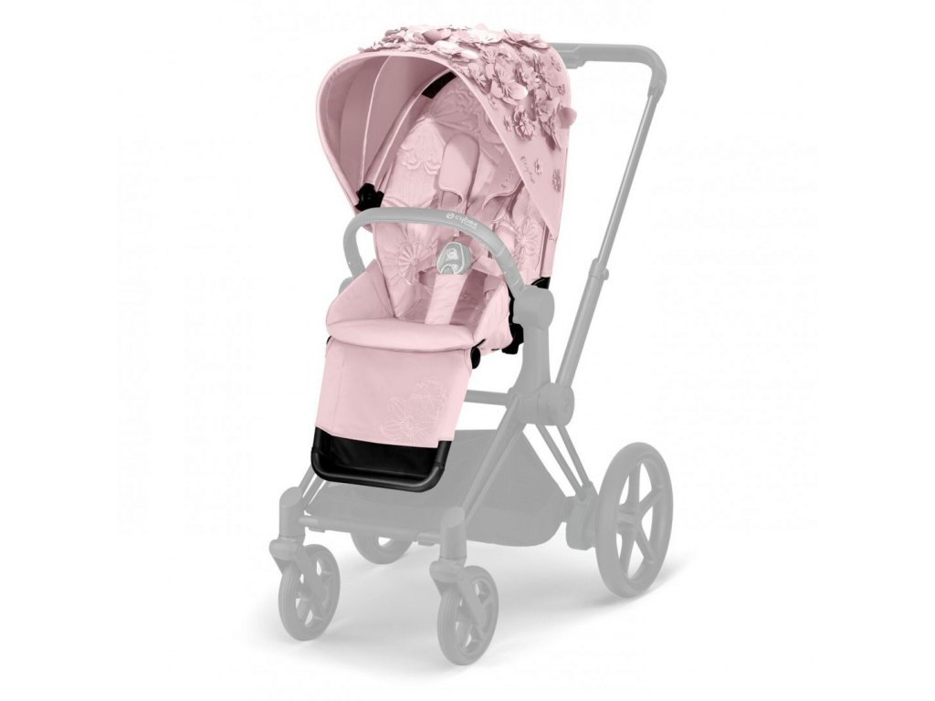 Cybex Priam Seat Pack Simply Flowers Pale Blush