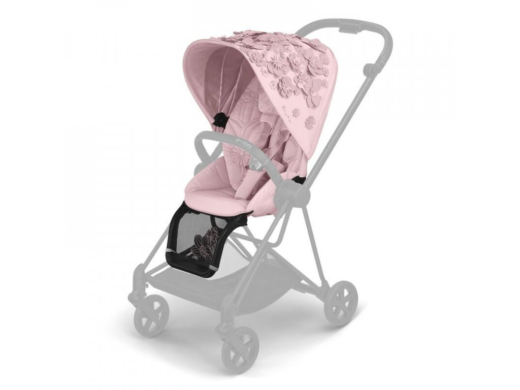 Cybex Mios Seat Pack Simply Flowers Pale Blush