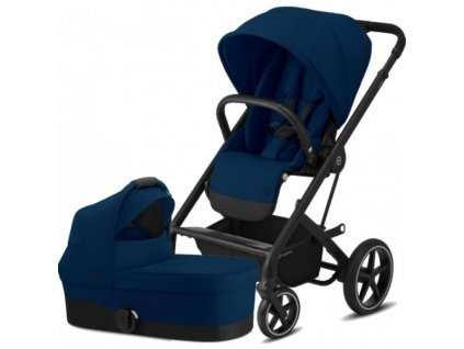 Cybex Balios S Lux BLACK, Carry Cot S 2021 - Navy Blue