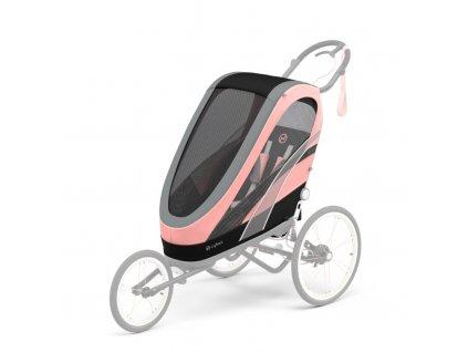 Cybex Zeno Seat Pack Silver Pink