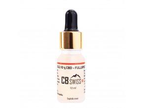 Fullspectrum MCT olej s 10 % CBD a dalšími kanabinoidy